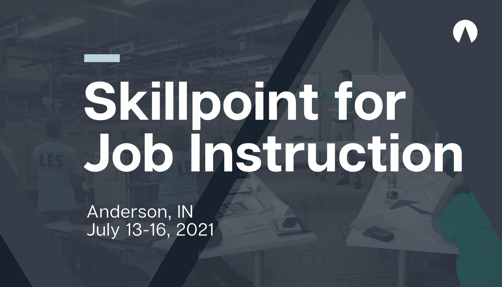 Skillpoint for TWI Job Instruction