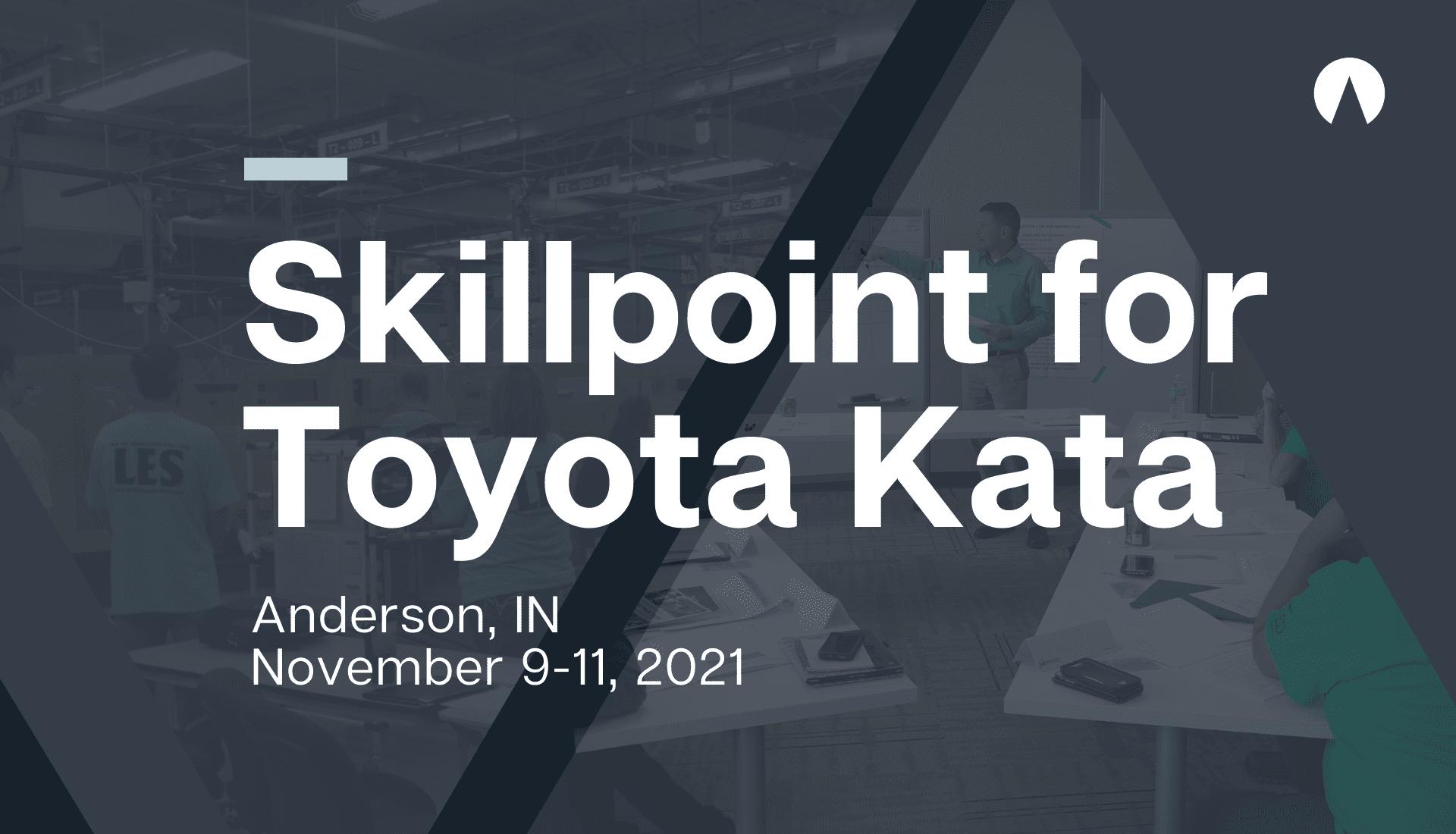 Skillpoint for Toyota Kata November