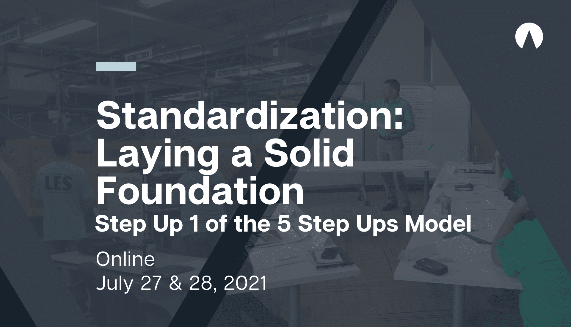 Standardization: Laying a Solid Foundation, Step Up 1 of the 5 Step Up Model