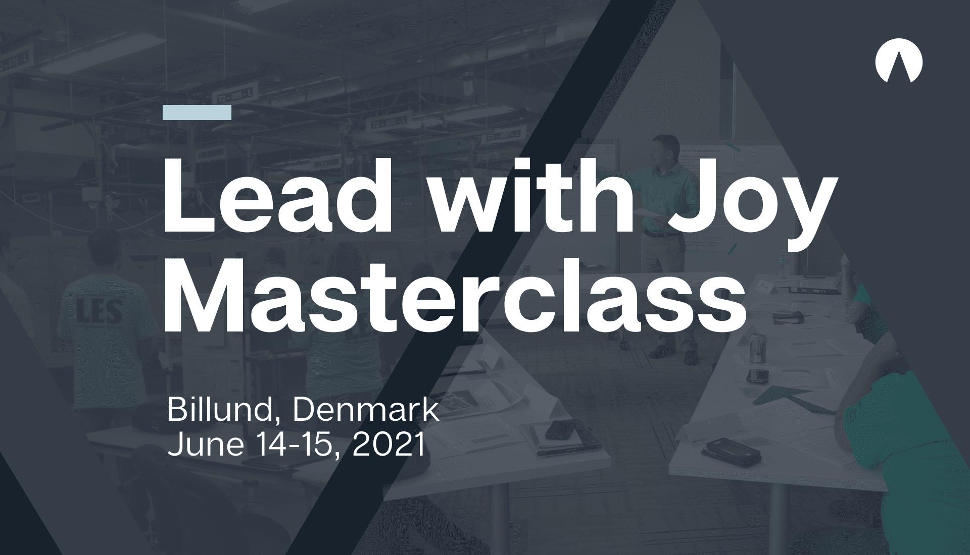 Lead with Joy Masterclass