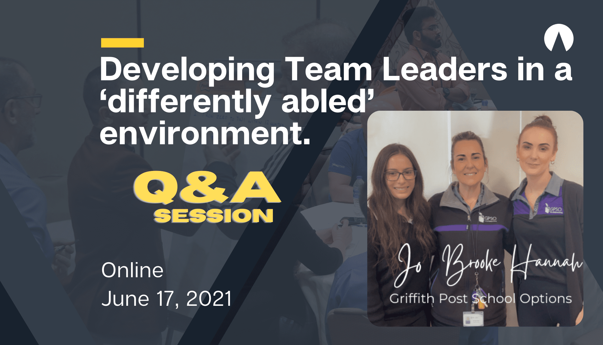 Developing Team Leaders in a 'differently abled' environment