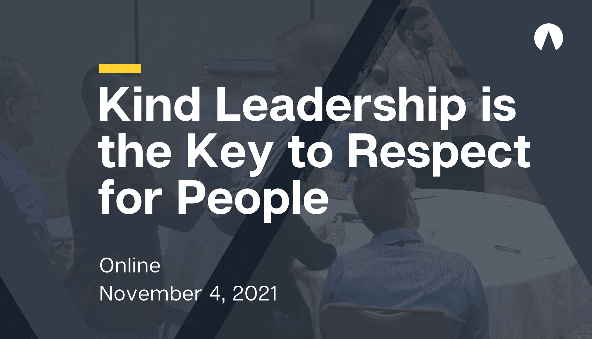 Kind Leadership is the Key to Respect for People
